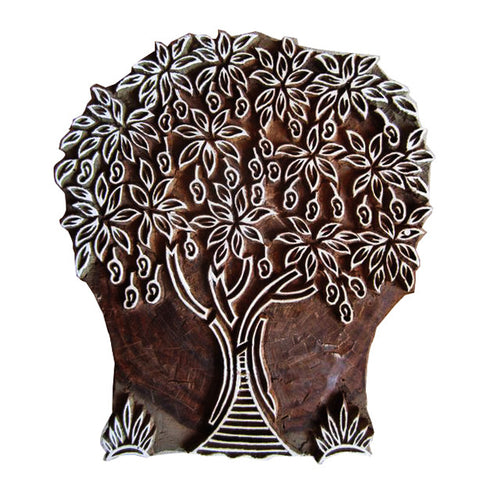 Tree of life wooden stamp by DesiCrafts