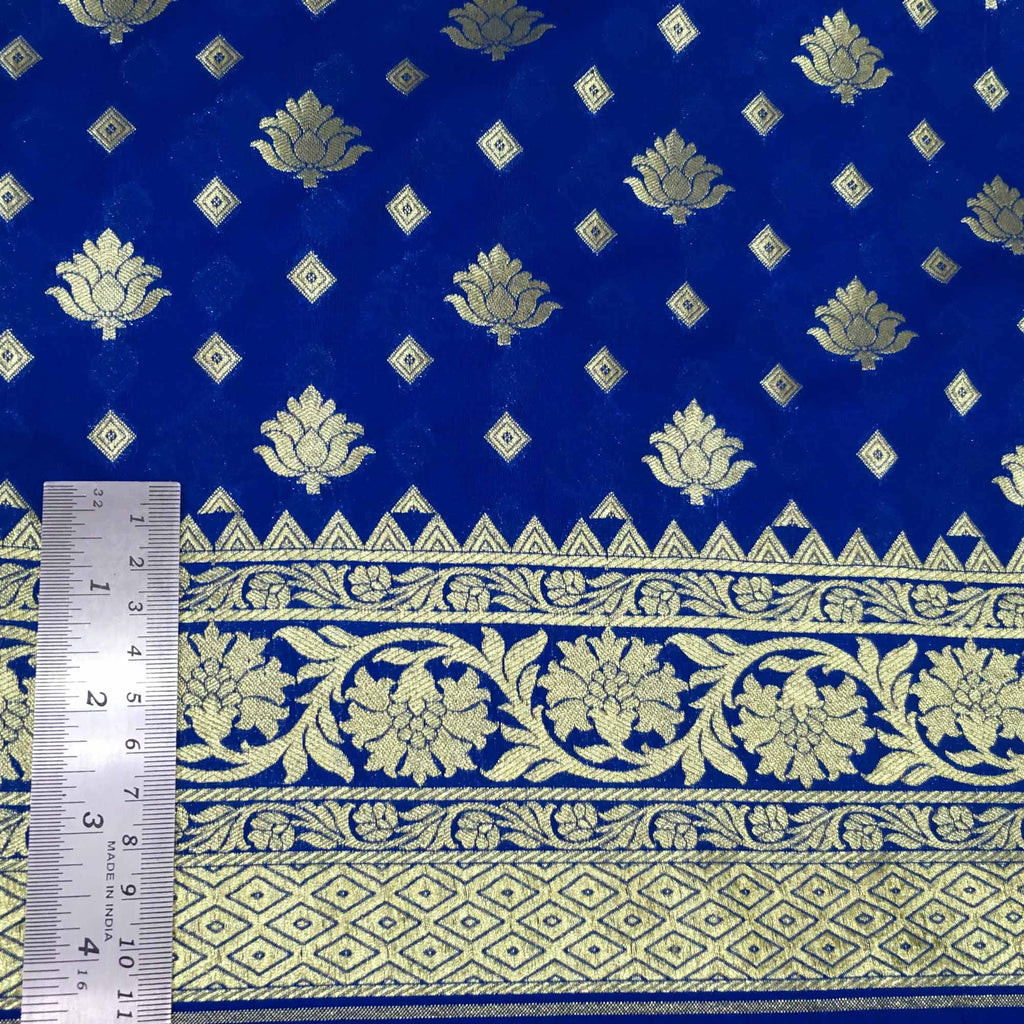 Handwoven banarasi silk fabric buy online