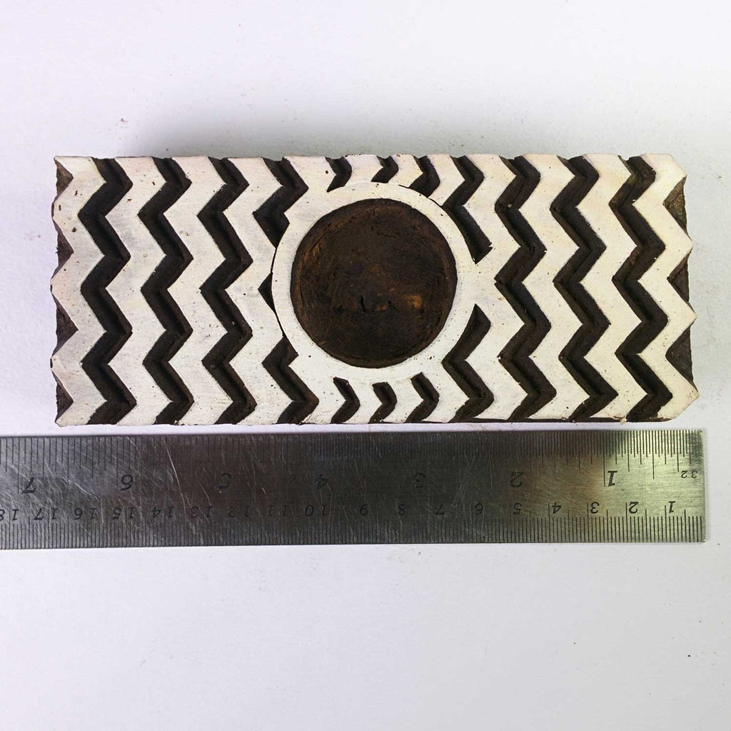 Handmade Chevron Tea Light Holder