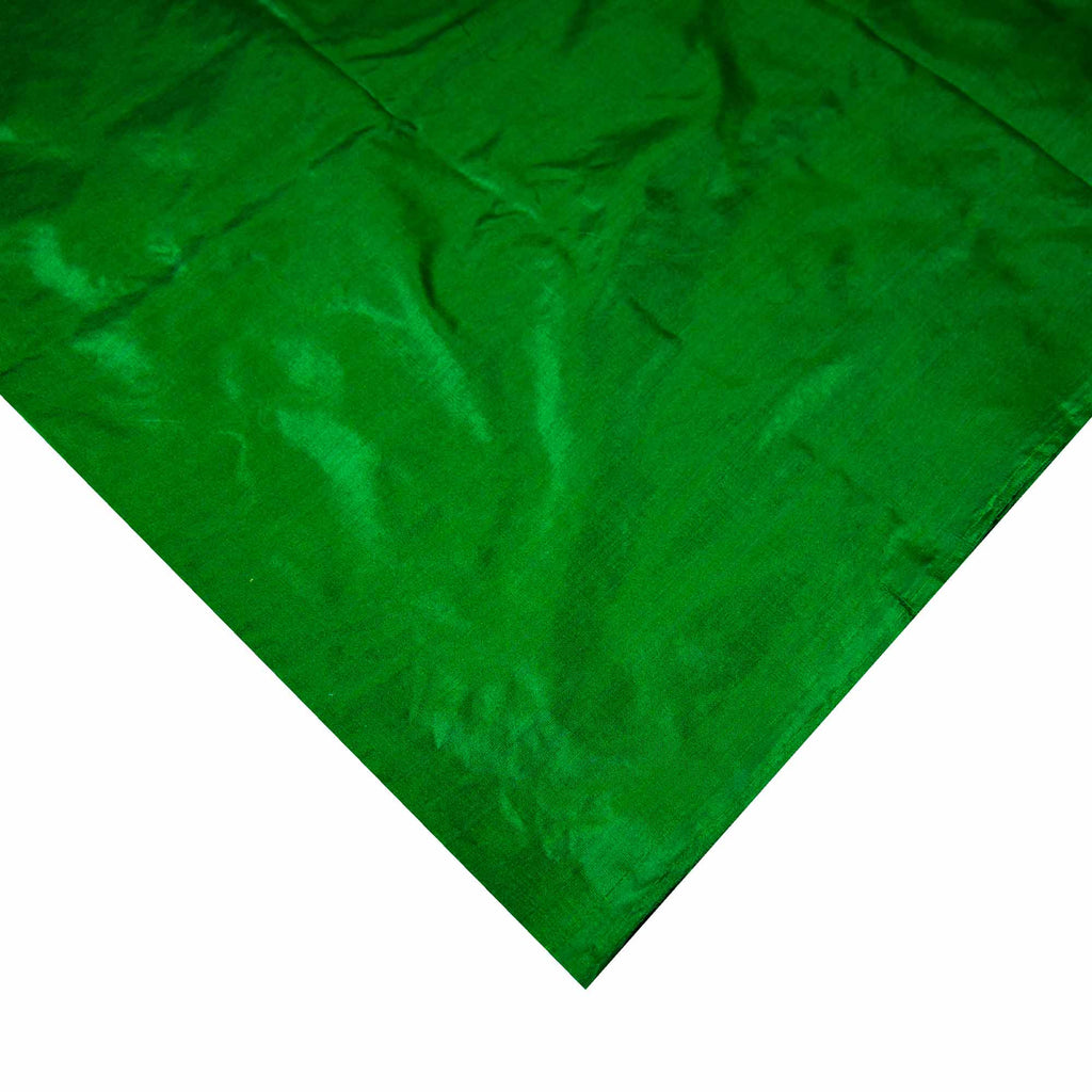 Emerald Green Soft Silk Fabric Buy Online