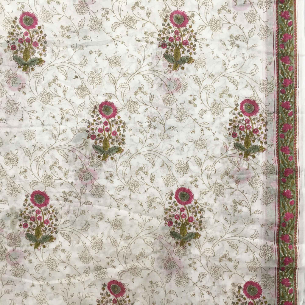 Floral print fabric by yard