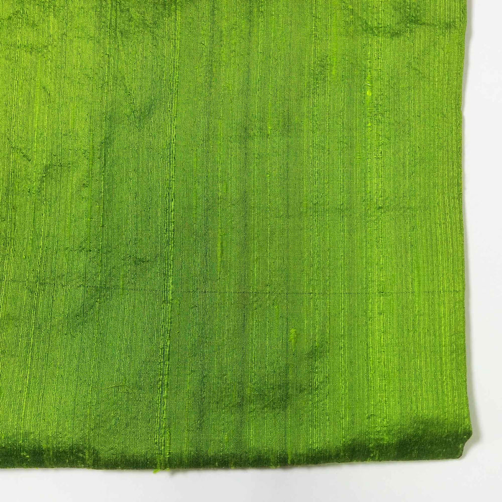 Greenery Raw Silk Fabric Buy Online from India