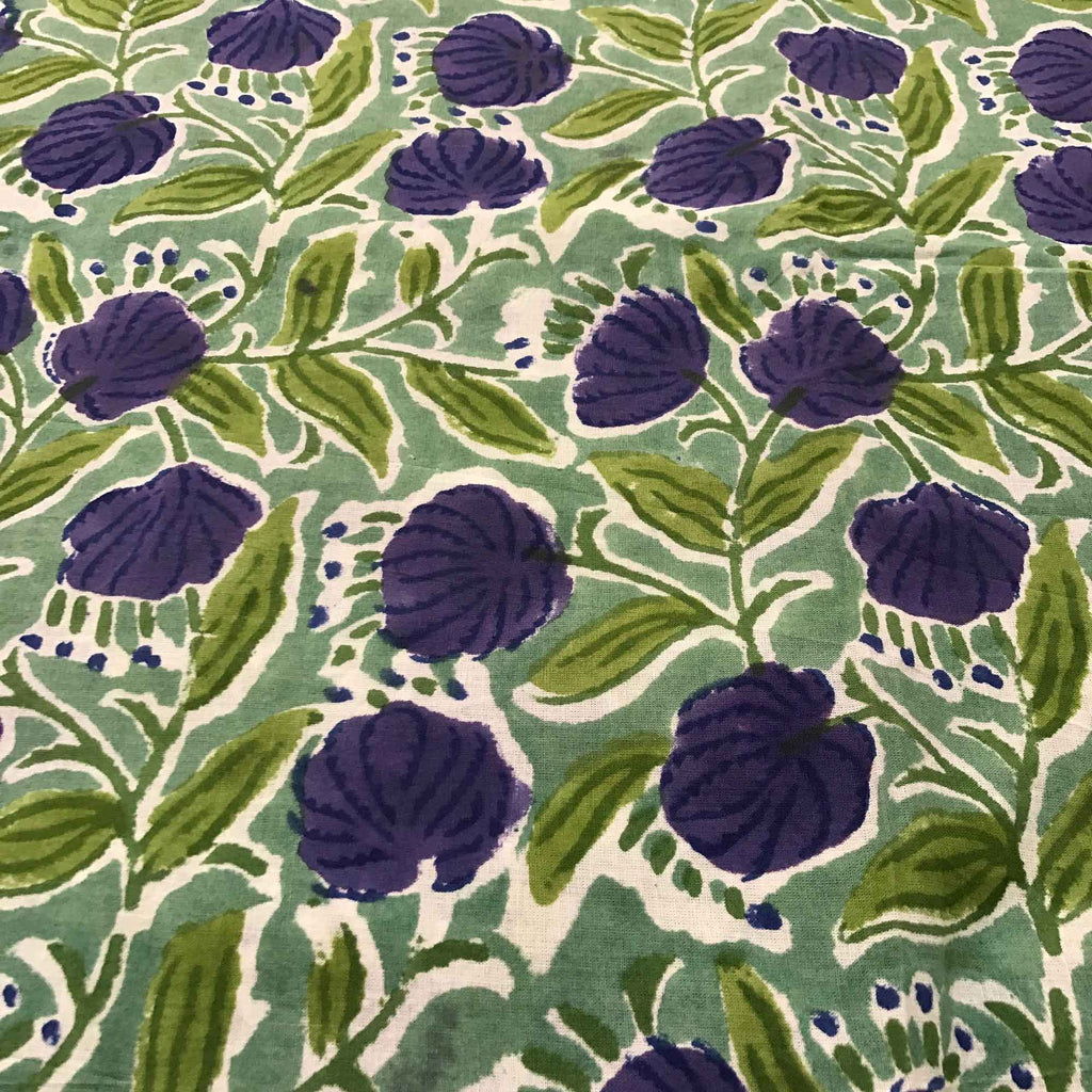 Floral print cotton fabric buy online