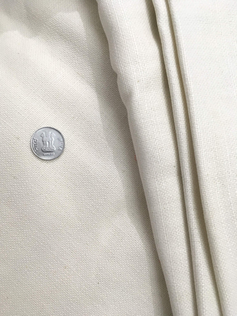 Heavy Weight Linen Cotton Blend Fabric