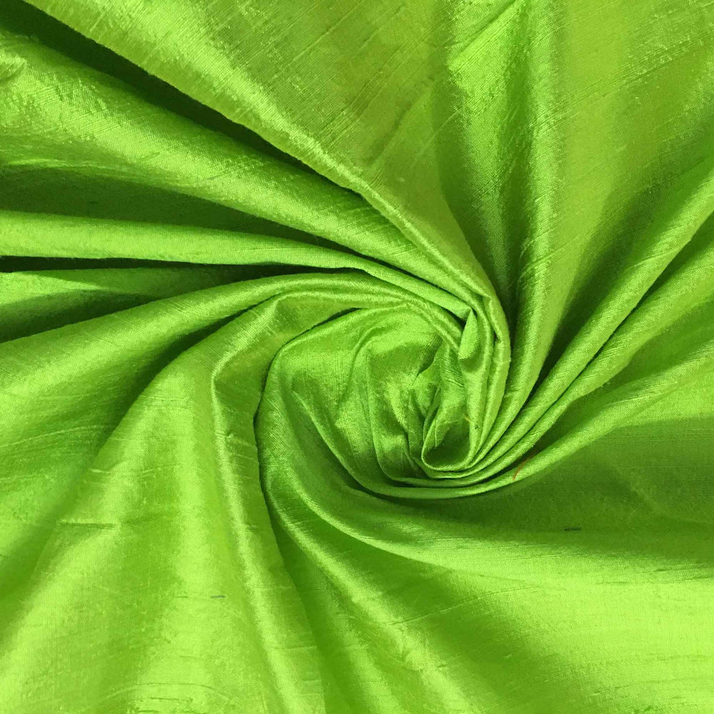 Green Raw Silk Fabric For Kurta