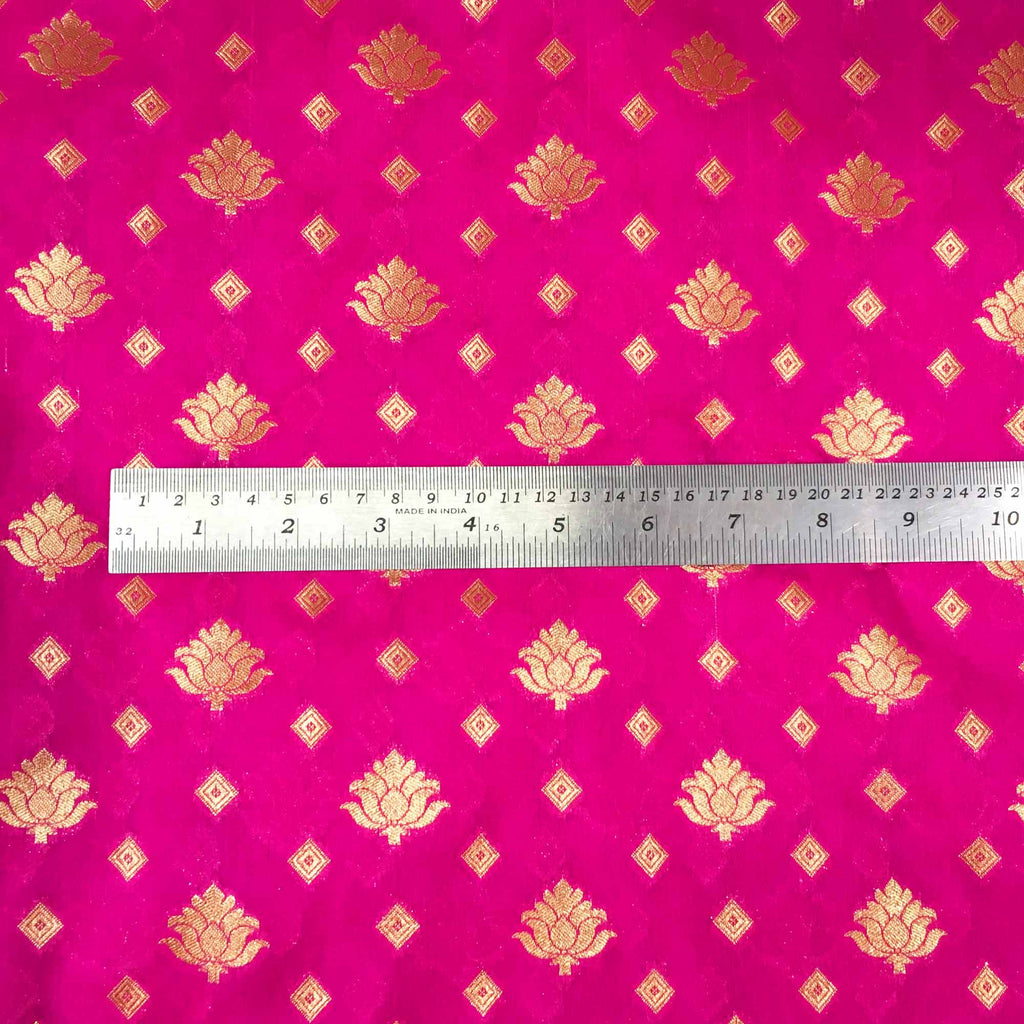 Banarasi silk fabric buy Online from DesiCrafts