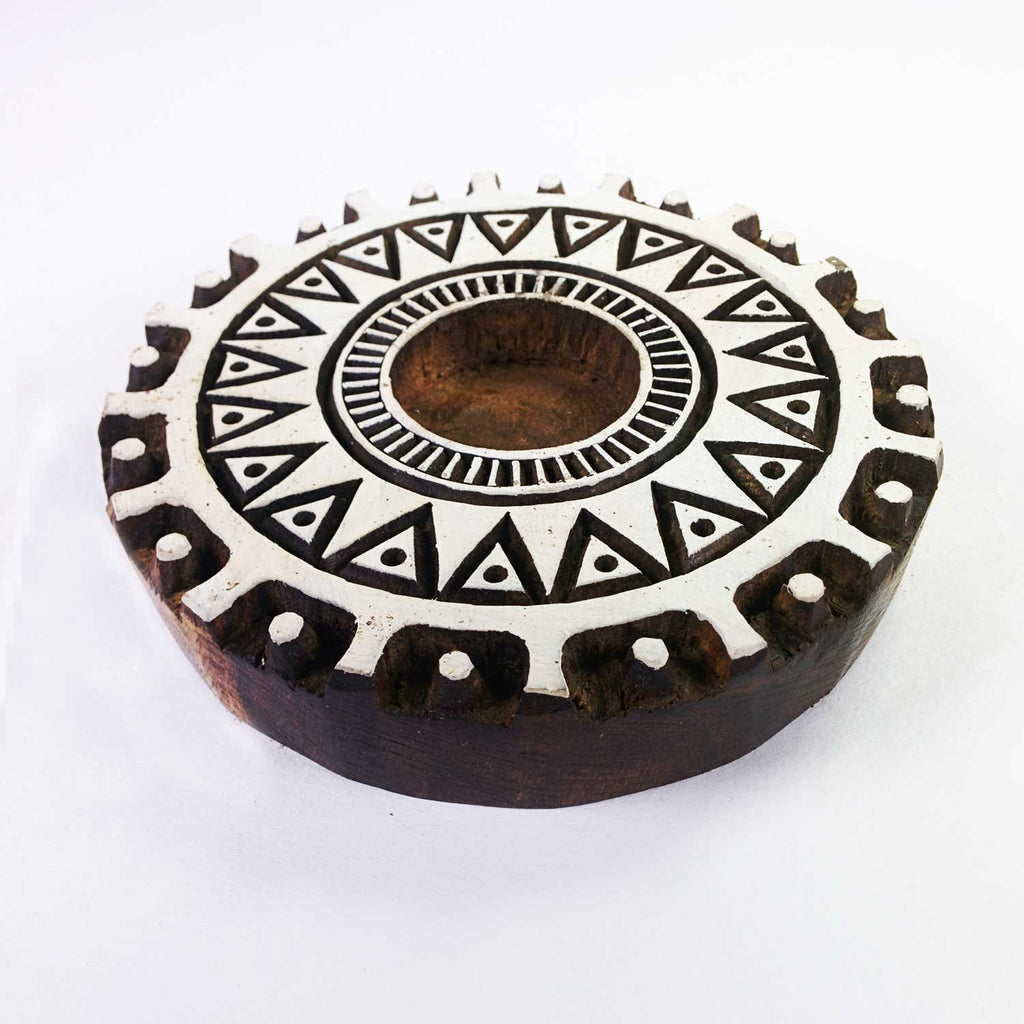 Big Mandala Tea Light Holder