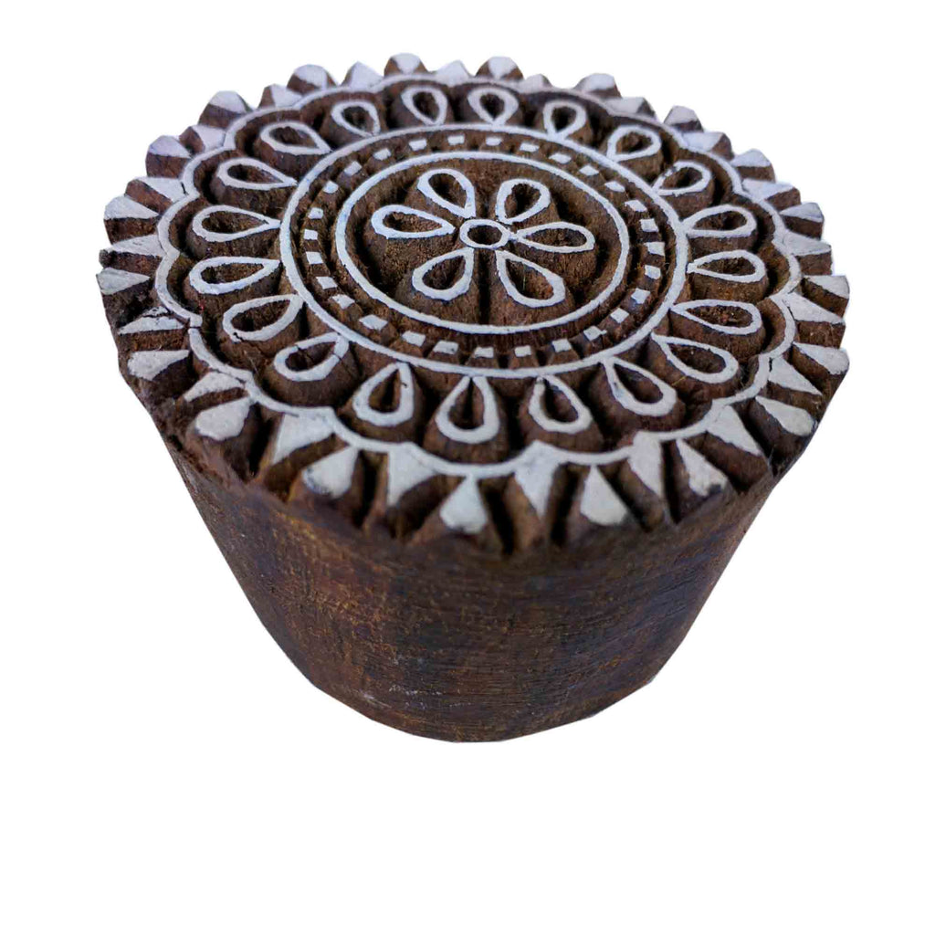 Mandala Stamp For Wood Block Printing