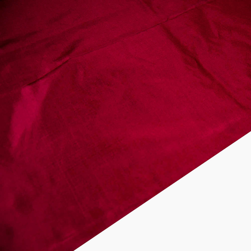 Maroon Soft Silk Fabric for dresses buy online from India