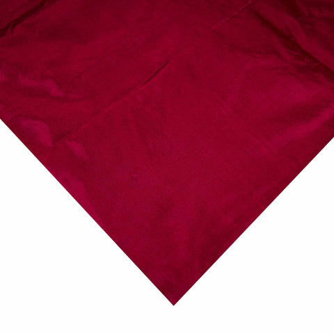 Maroon Soft Silk Fabric buy online from India