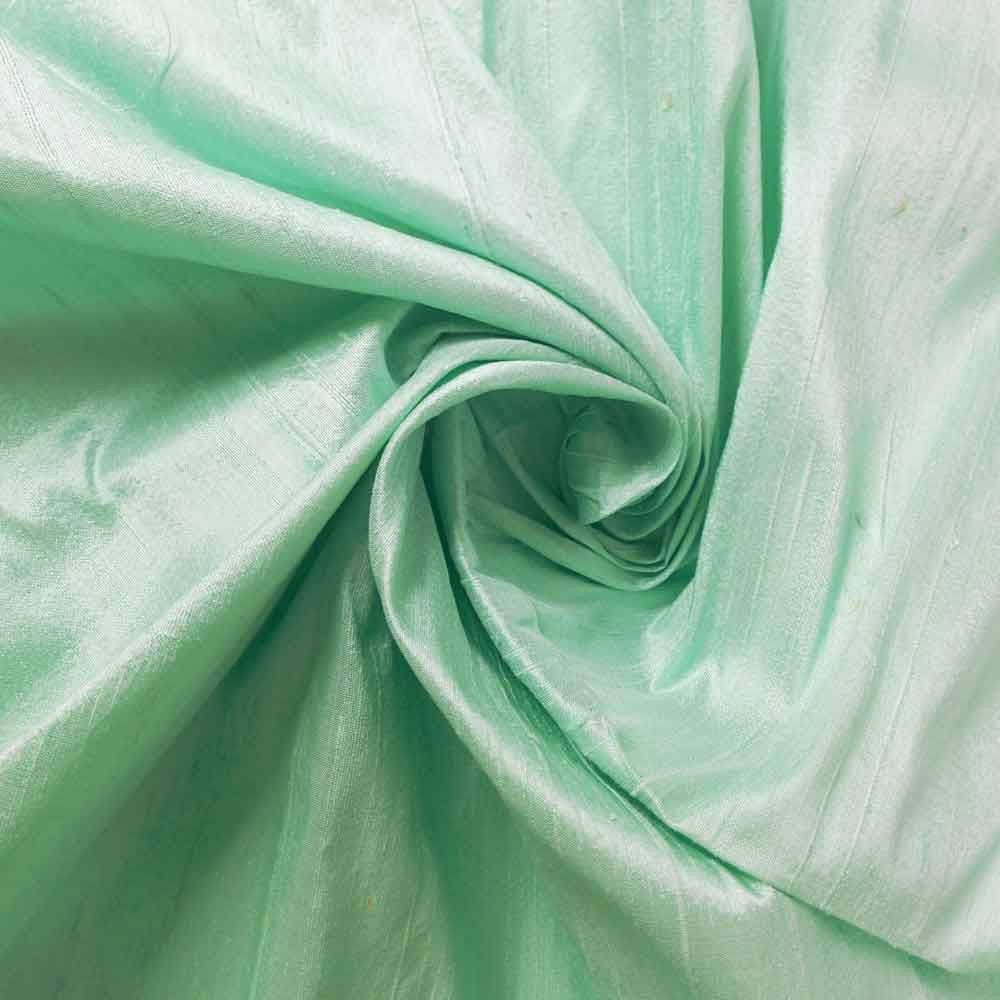 mint raw silk slub fabrics by meter buy online from desicrafts