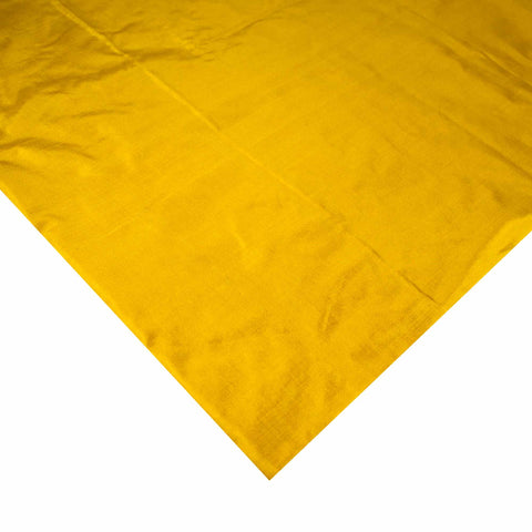 Mustard Soft Silk Fabric buy online from India