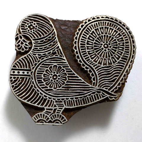 Parrot Stamp Block for Wood Block Printing