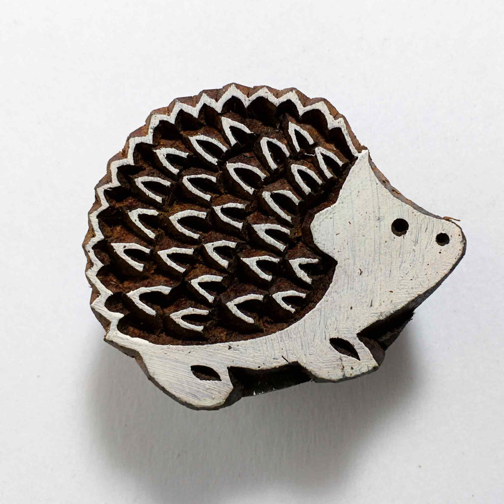 Porcupine Cute Stamp For Printing