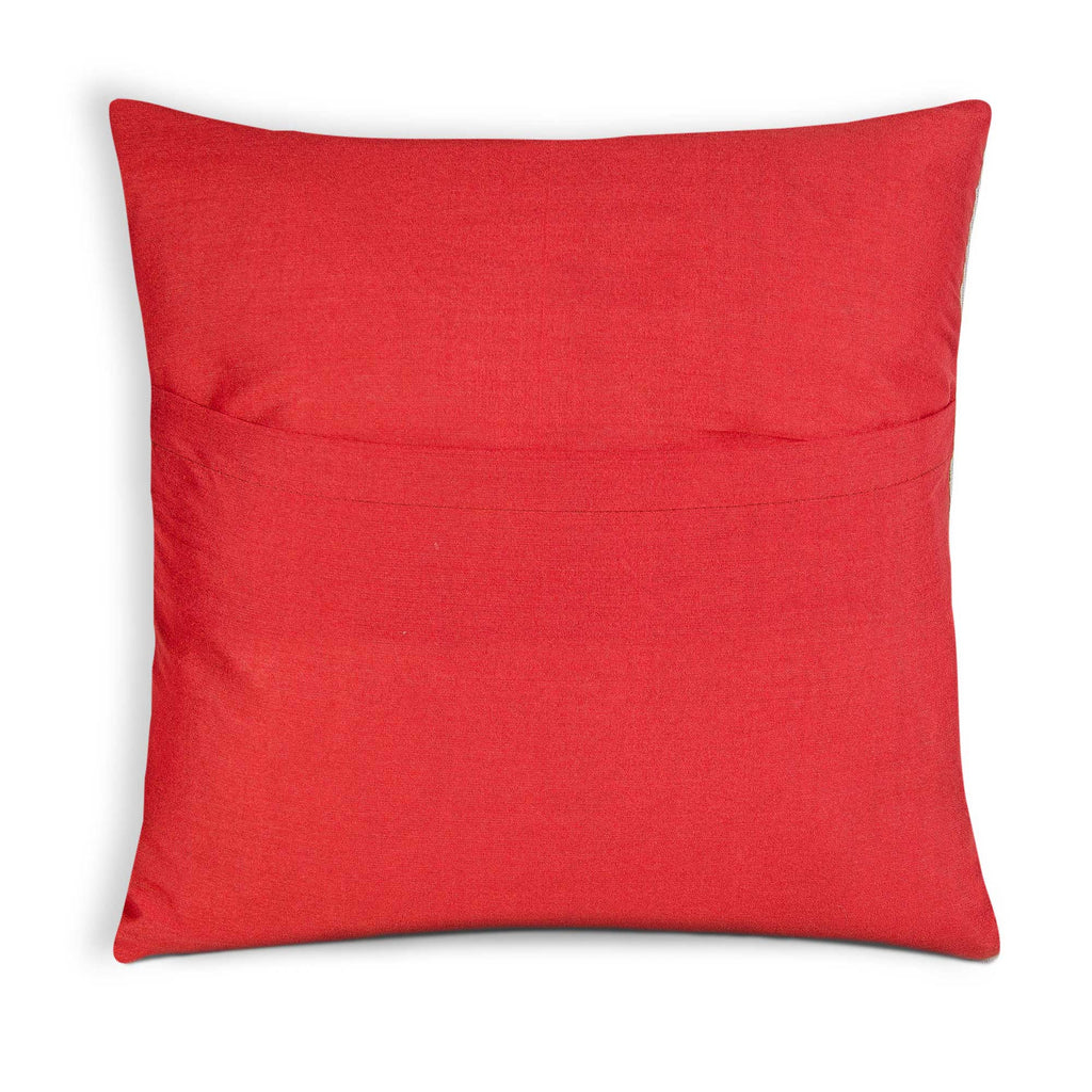 envelope style multi color silk pillow
