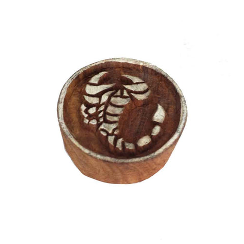 scropio wooden block printing stamp buy online from India