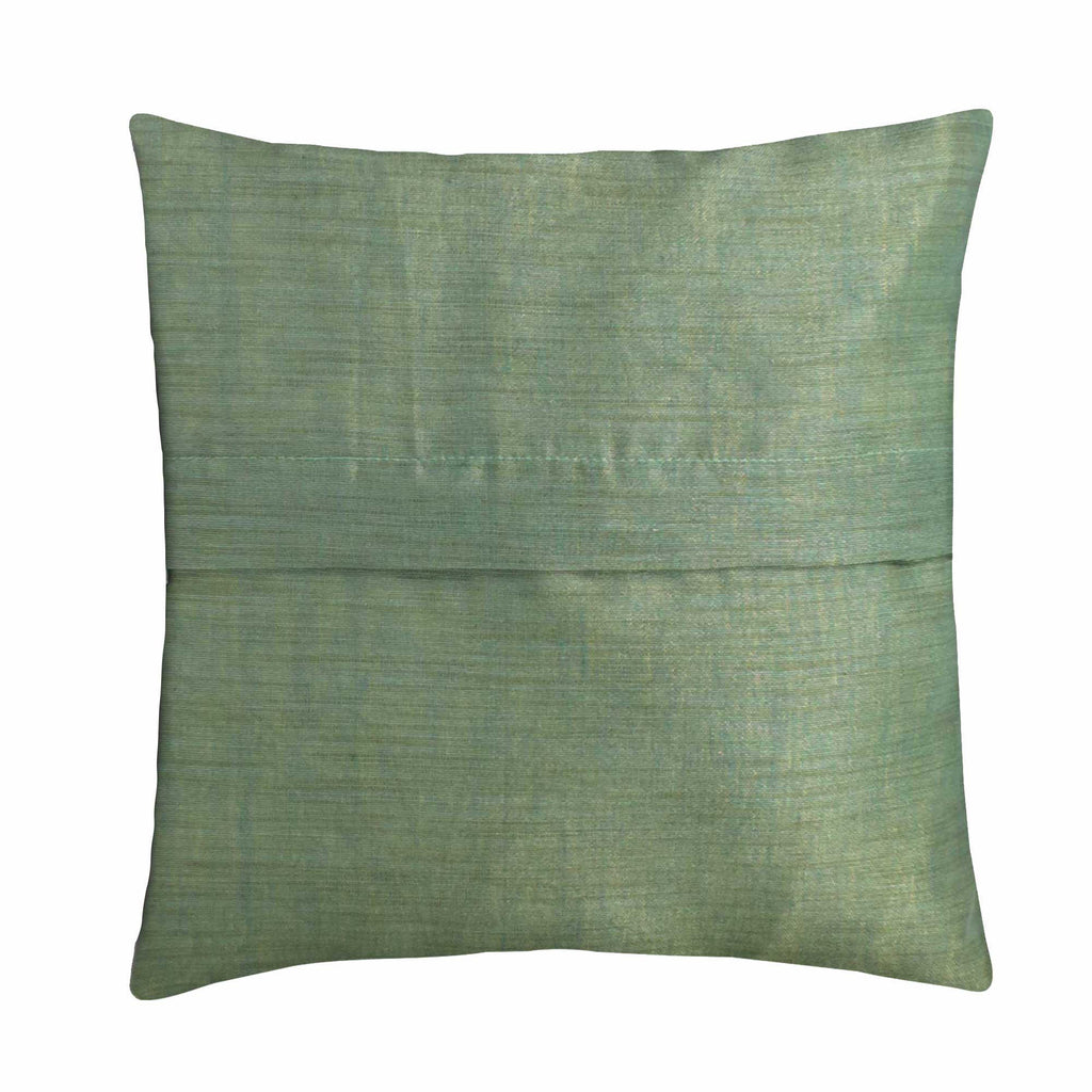 Teal and Gold Home Furnishing Pillow Cover