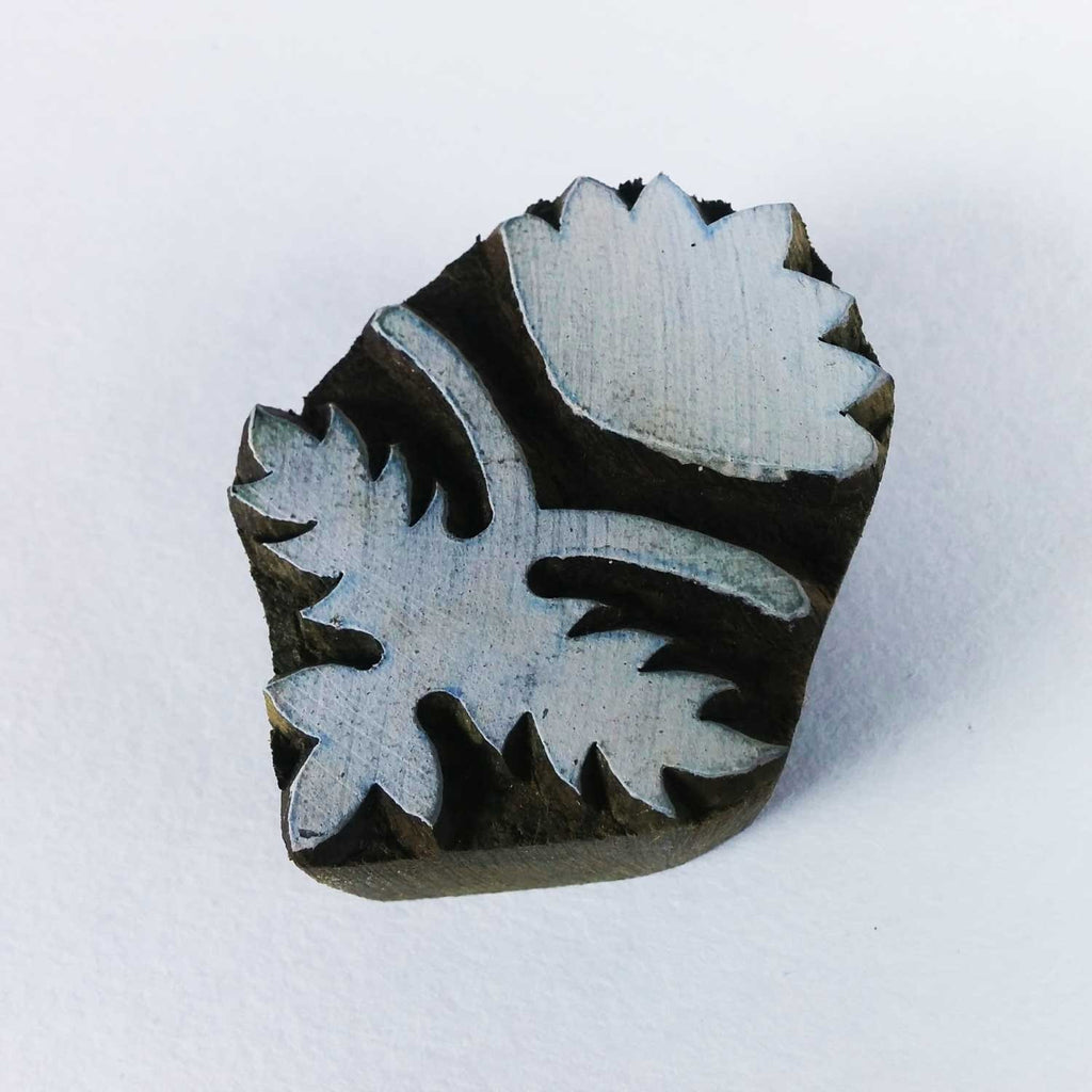 Flower Block Printing Stamp