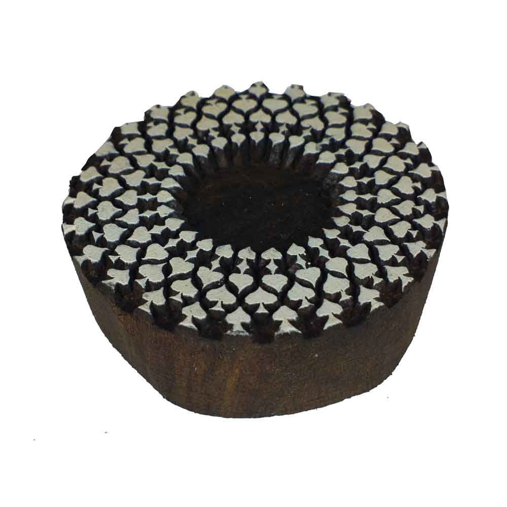 small mandala wooden block printing buy online from DesiCrafts