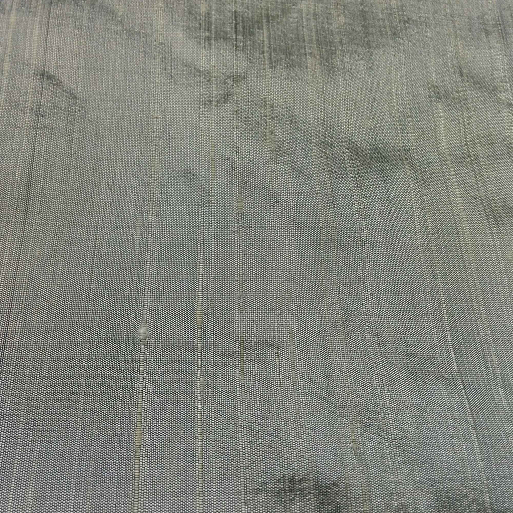 Steel Grey Raw Silk Fabric buy for dresses and curtains