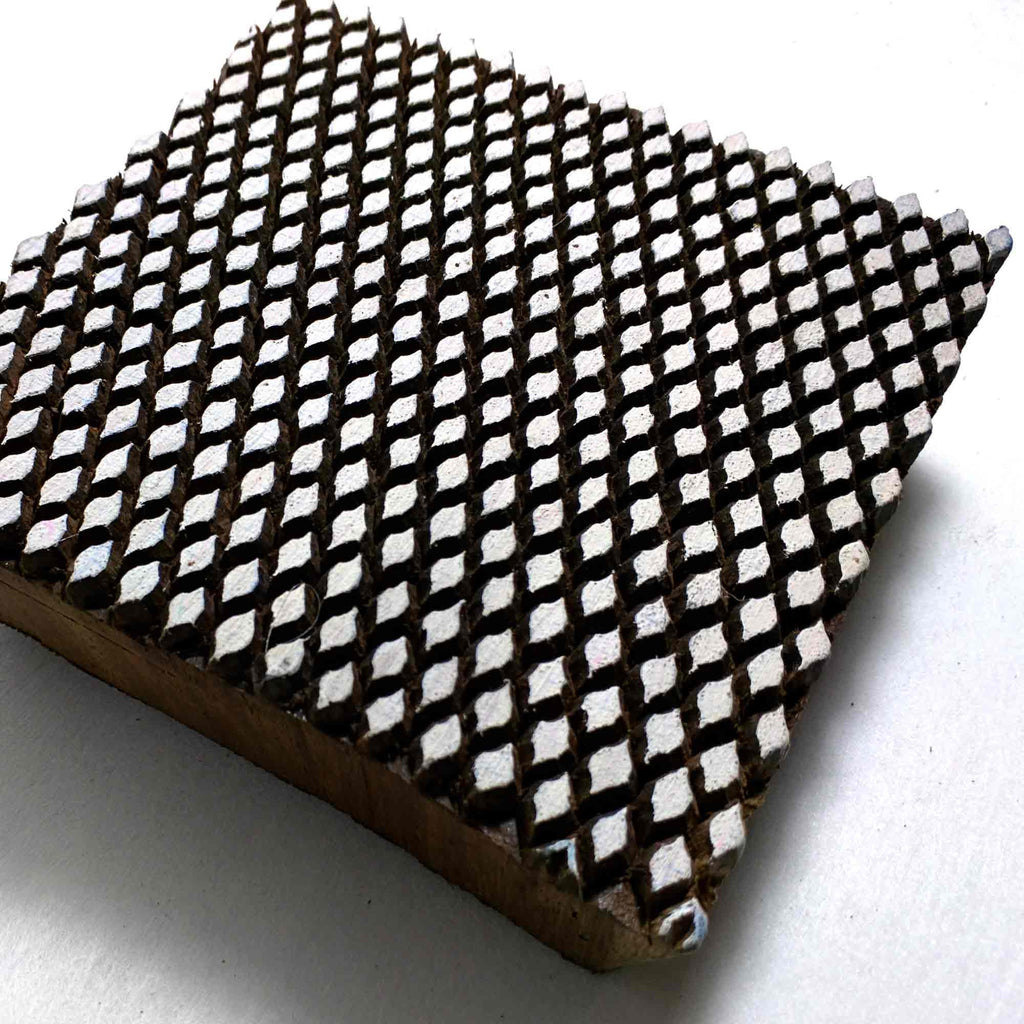 Tiny Dots Wooden Stamp for Printing