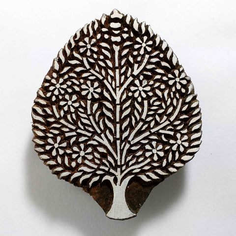 Tree of Life Textile Printing Stamp