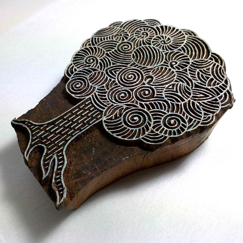 Tree Of Life Wooden Stamp for Printing