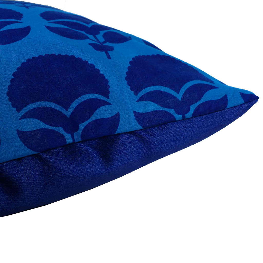 Turquoise tree cushion cover buy online from India