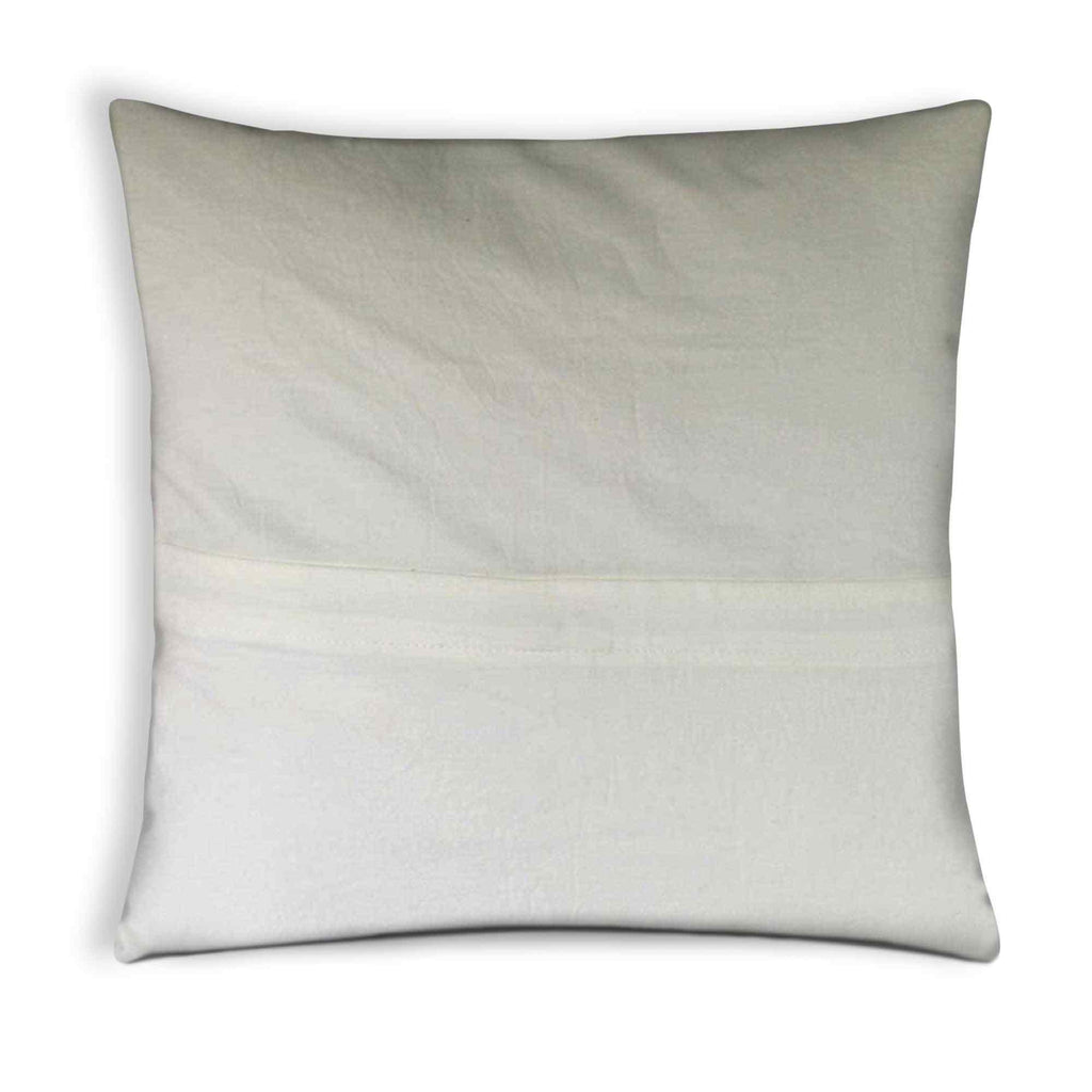 White and black polka cotton pillow cover