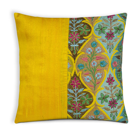 Kashmir embroidery pillow cover