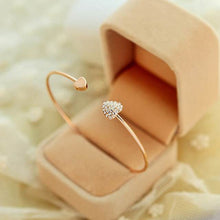 Load image into Gallery viewer, Ikasiya Rose Gold Diamond Bangle