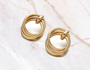 Ikasiya Multi Round Gold Earrings