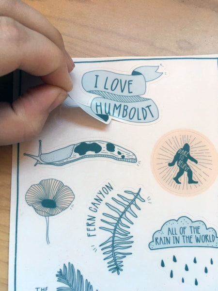 Humboldt Sticker Sheet