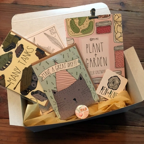 Paper Pack: card + art subscription box