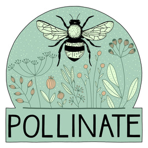 Pollinate Sticker