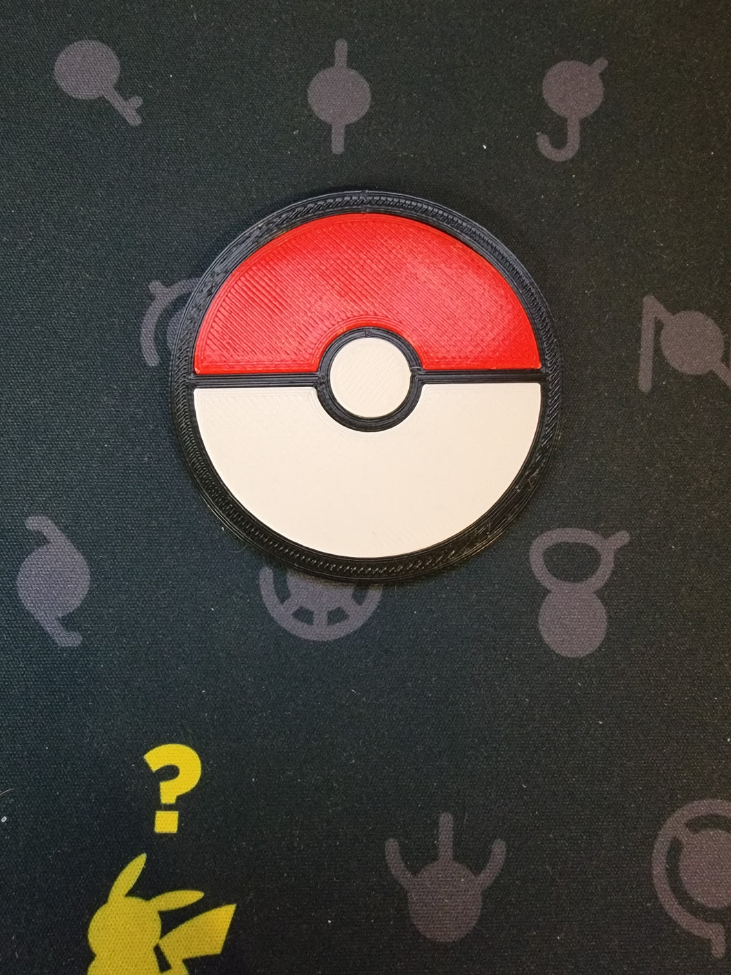 Pokeball Slab/Card Stand - order to print (color option is for base only)