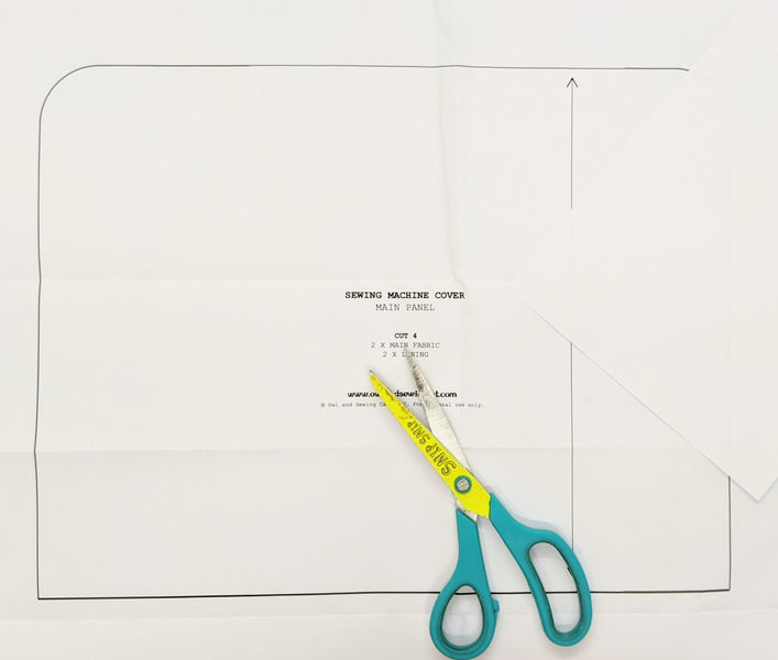 How to adjust the size of the campervan sewing machine cover