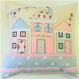 club membership project home sweet home applique cushion