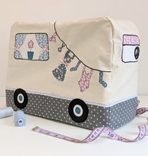 Load image into Gallery viewer, Campervan Sewing Machine Cover Pattern