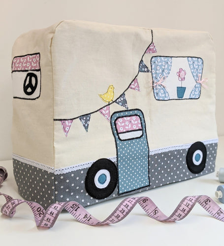 Campervan Sewing Machine Cover Sewing Kit