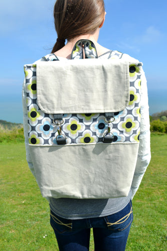 Box Rucksack / Backpack sewing pattern