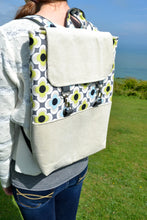 Load image into Gallery viewer, Box Rucksack / Backpack sewing pattern