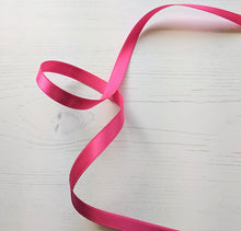 Load image into Gallery viewer, Hot Pink Satin Ribbon - 10mm