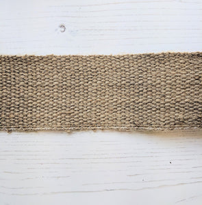 Strapping Hessian - 50mm - used on Rose Day Bag