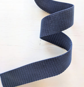 Strapping Blue Nylon - 38mm - used for Oil Cloth Tote Bag