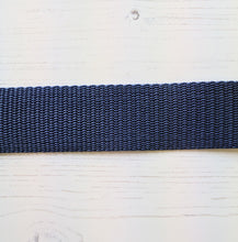 Load image into Gallery viewer, Strapping Blue Nylon - 38mm - used for Oil Cloth Tote Bag