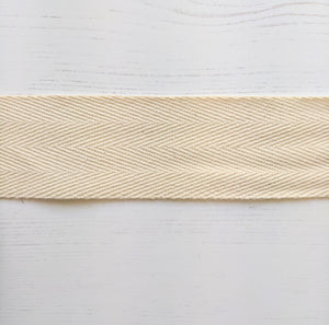 Strapping Natural Cotton - 38mm