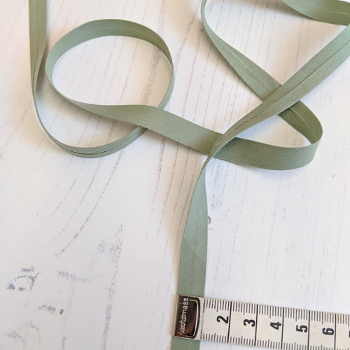 Bias Binding 12mm - sage green