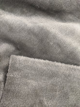 Load image into Gallery viewer, Grey Cuddlesoft Fleece Fabric - 1/2mtr