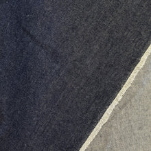 Load image into Gallery viewer, Denim fabric (dark) - 1/2mtr